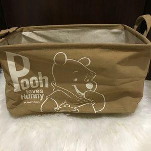 🤎 Disney Daiso Winnie the Pooh Cloth Storage Box